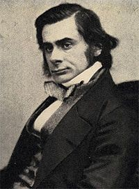 "Thomas Huxley, known as ""Darwin's Bulldog"". He was a biologist, debater, and proponent of evolutionary theory, as well as a supporter and promoter of Charles Darwin's On The Origin of Species and other biological works."