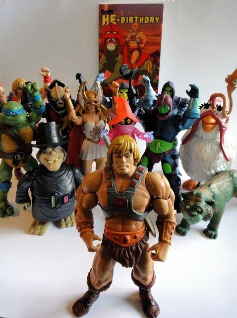 HAPPY BIRTHDAY HE-MAN - HOARD WORLD CELEBRATES 30 YEARS OF MASTERS OF THE UNIVERSE 1982-2012