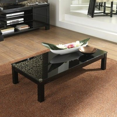 Lovely high gloss black furniture made in Italy, by Casabella 'Lucido' Coffee Table #4livinguk
