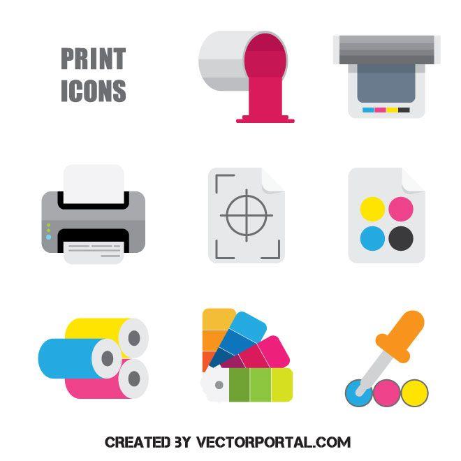 print vector icons vector icons free printer vector vector icons print vector icons vector icons free