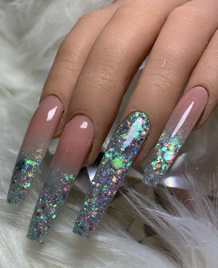 Pin by Geonom on Curved nails   Curved nails, Long nails