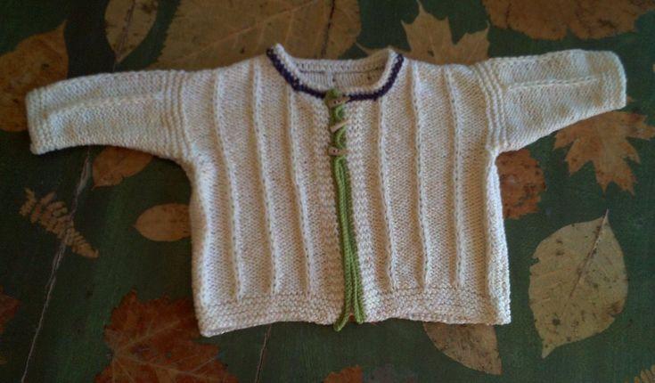 FRANCESCO, strikkeopskrift til baby fra domoras