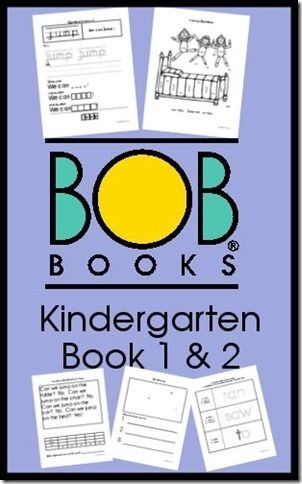 BOB Books Printables for Kindergarten Sight Words