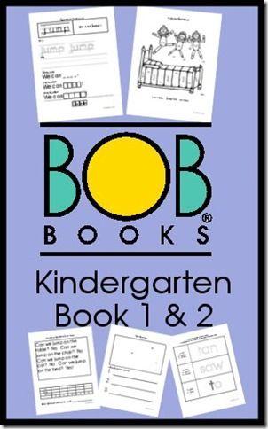BOB Books Printables for Kindergarten Sight Words