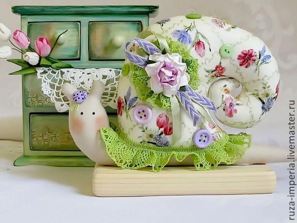 Купить Тильда Улитка Весна в окно стучится... - разноцветный, Тильда улитка, улиточка, улитка