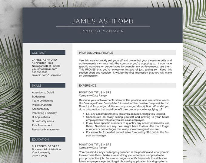 25 best ideas about cv template on
