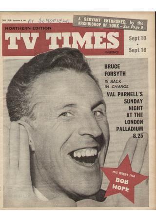 TV Times, September 1961 (Bruce Forsyth)