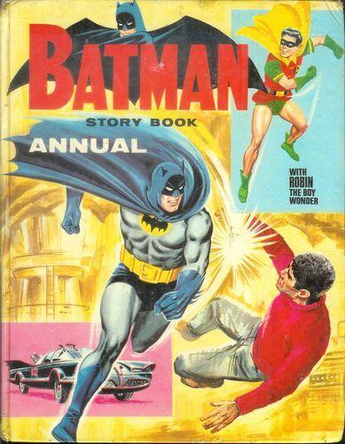 British 1966 Batman TV Show Based Illustrated Text Stories