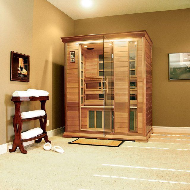 What's a home without a sauna? ~ Home Ceder Sauna