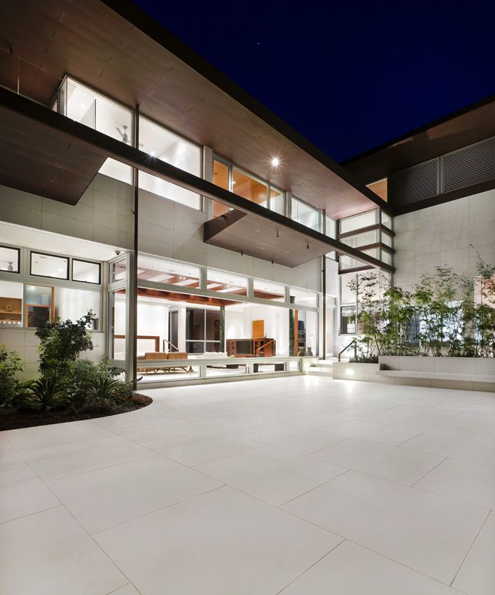 Lakeshore residence décoration de maison contemporainearchitectes