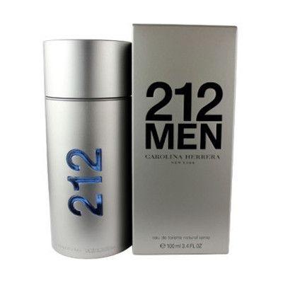 212 Men NYC by Carolina Herrera EAU DE TOILETTE SPRAY 3.4 Oz