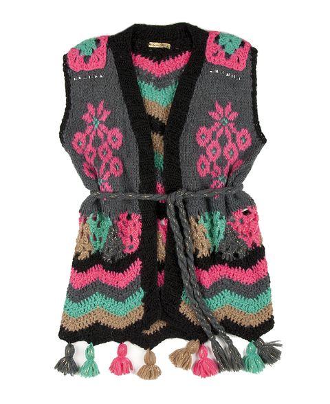knit & crochet vest