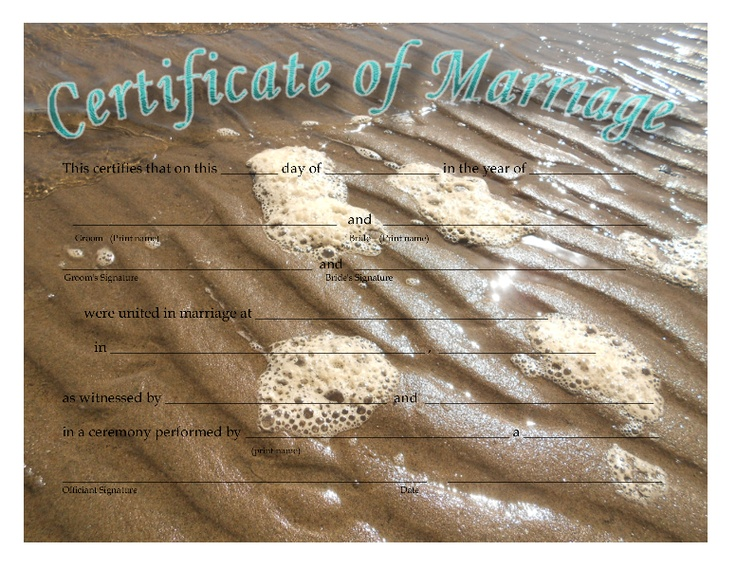 25 best CERTIFICATES OF MARRIAGE images on Pinterest Knots - copy birth certificate long beach