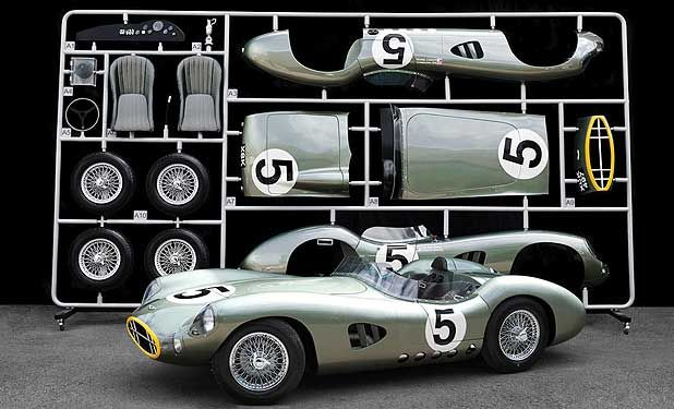 ASTON MARTIN DBR1 KIT: A full-sized homage to the car and drivers that won the 1959 Le Mans 24 hours.: Martin Dbr1, Astonmartin, Scale Models, 11 Scale, 1 1 Scale, 1959 Aston, Automotive Art, Le Men, Aston Martin
