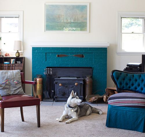 The Living Room From Julie Martin S Home Tour On Design