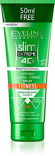 SLIM EXTREME 4D SLIMMING AND FIRMING SERUM ANTICELLULITE FITNESS 250ml ** Click on the image for additional details.