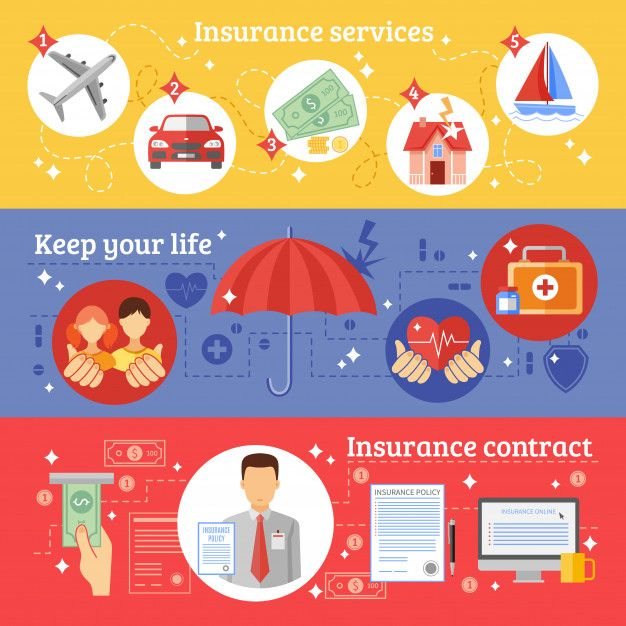 Download Insurance Banners Set For Free Health Insurance Best