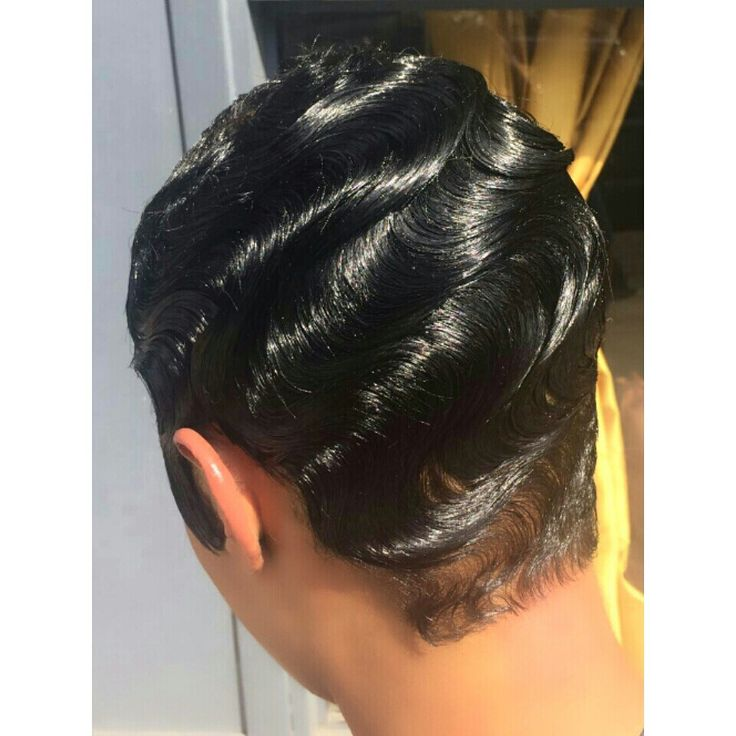 Finger waves   Hair cuts   Pinterest   My hair, Style and ...