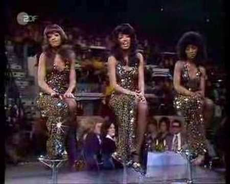 """Are we in love or just friends? Is this the beginning or is this the eeennndd? When will I see you again? The Three Degrees 1978."