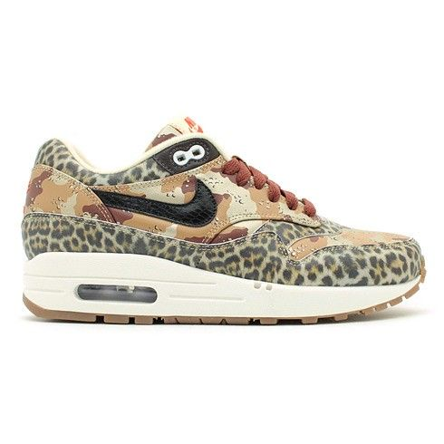 nike air max 1 prm desert camo leopard sneakers women hot sale hot price
