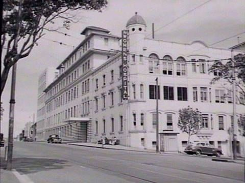 Crown Street Women's Hospital, Crown Street., Sydney, NSW - 1950 Photo shared by the State Library NSW. v@e.