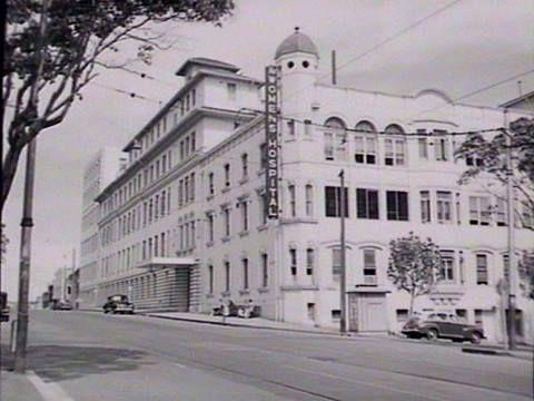 Women's Hospital, Crown Street - 1950 (SLNSW)