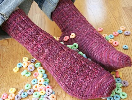 This pattern was really easy to knit, but not so easy that it was boring.