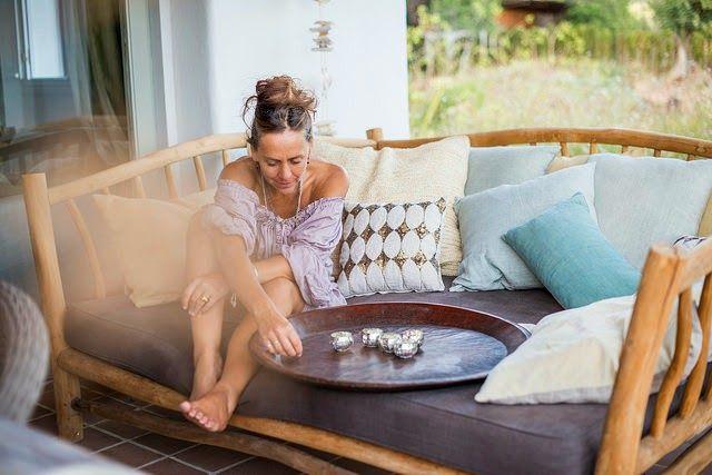 Katrina Phillips y su casa en Ibiza