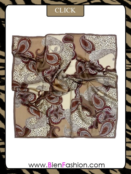 Scarf | Scarves | Fashion Accessories | Bien Fashion | Bien | Fashion | BF | Bufandas | Combrar Ahora | SHOP NOW ♥ Paisley Silk Scarf