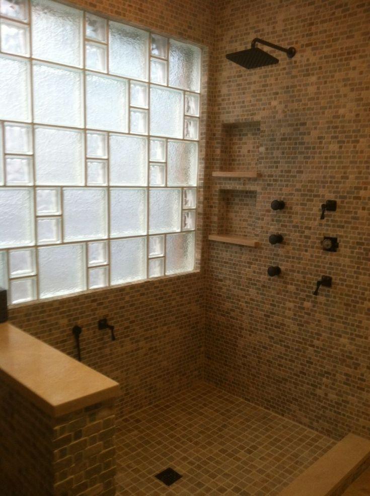 Best 25 window in shower ideas on pinterest shower - Walk in showers for small bathrooms ...