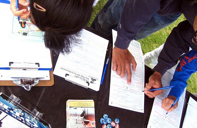 Latino groups to launch massive voter registration  The political season is up and running! Should we leave Latino voter registration to large groups? Should it be a personal thing?