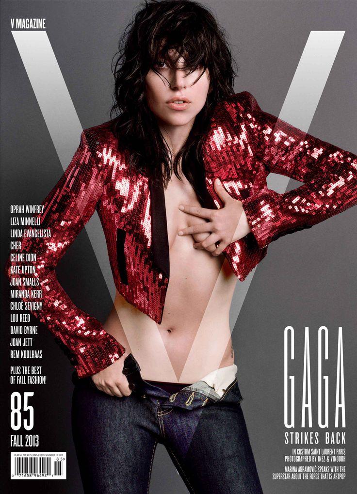 Covers: Lady Gaga by Inez & Vinoodh for V Magazine Fall 2013