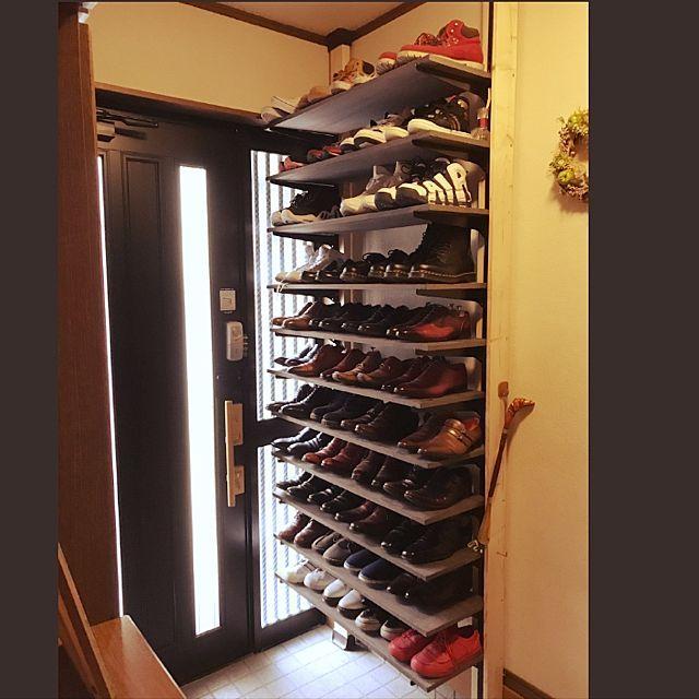 Diy 靴箱