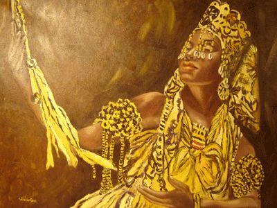 UFANISI: Oxum nasce de Iemanjá e é curada por Ogum