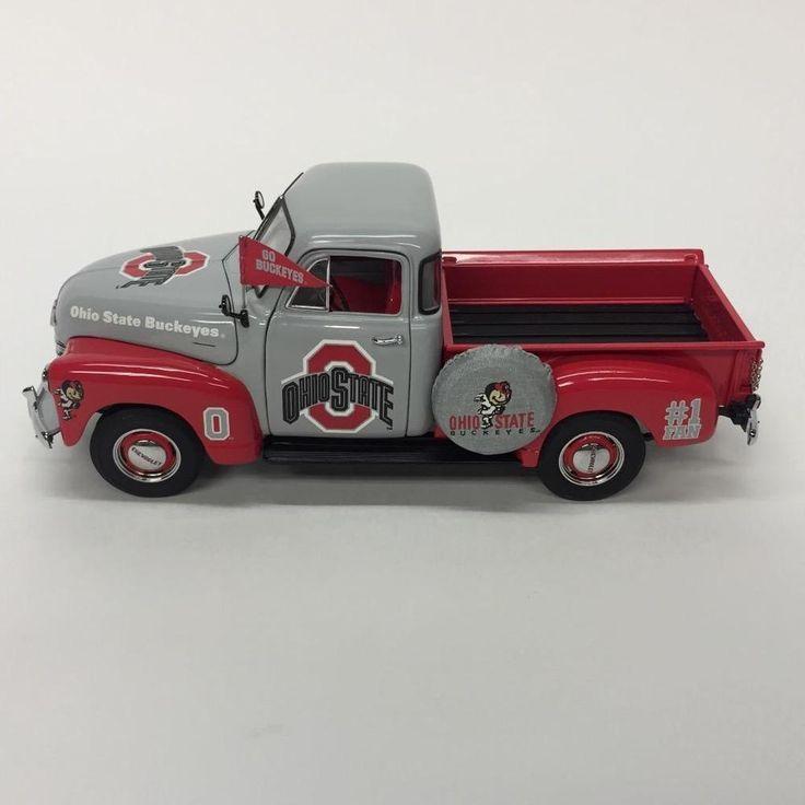 Danbury Mint Ohio State Buckeyes Diecast 1953 Chevy Pickup Truck Box Accessories | eBay