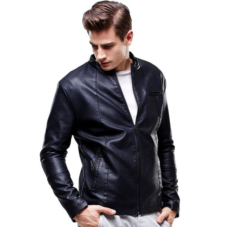 BOYUAN PU Jacket Jaqueta De Couro Masculino Motoqueiro Leather Jacket Men Male Leather Jacket Jaqueta Masculino Couro Coat 8603