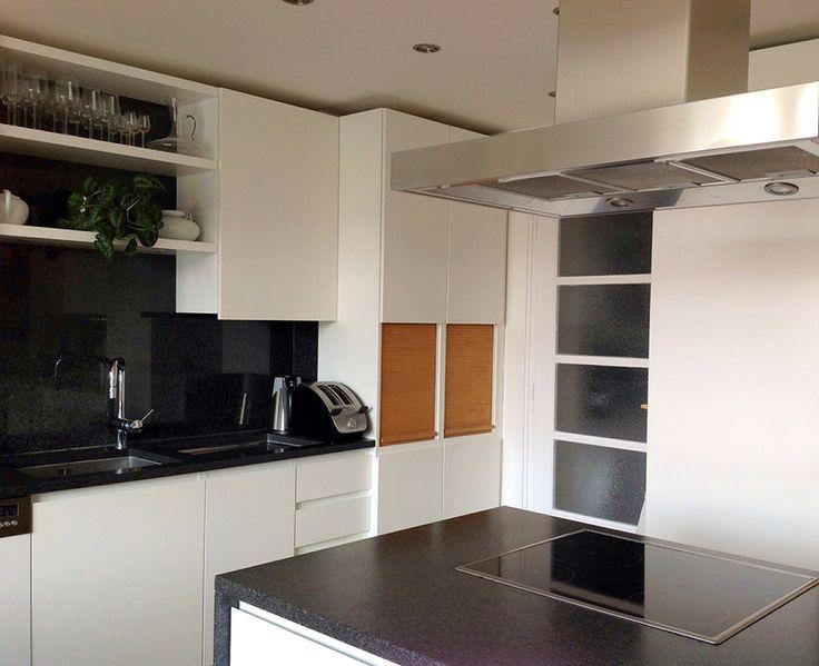 bespoke kitchen by carpenter Roman Bursicek - www.rb-t.cz with granite worktop