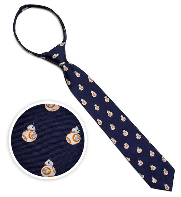 BB-8 Kids' Zipper Tie