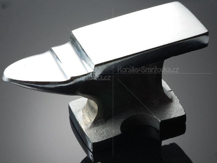 Kovadlina - malá pracovní - stříbřená - 130 x 44mm - 1ks