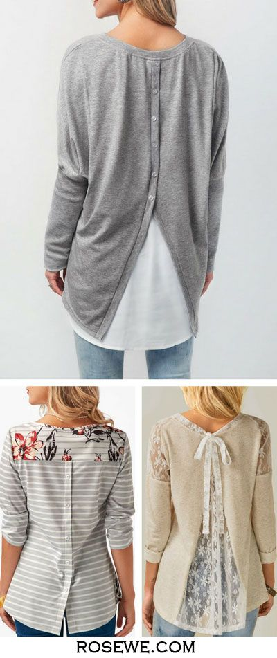 Cute tops for women at Rosewe.com.