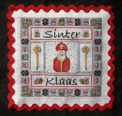 """Embroidery on """"Sinterklaas"""" Bag"""