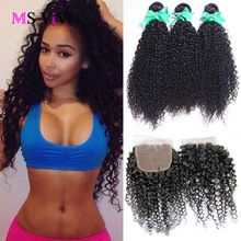 brazilian virgin hair with closure 3pcs brazilian kinky curly virgin hair with closure brazilian curly virgin hair with closure