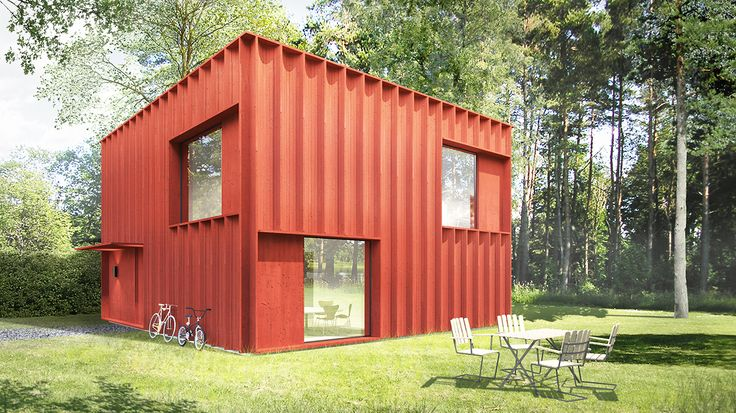 home designed by 2 million Sweden's architects. Not sure what to think about the result but the process is super interesting