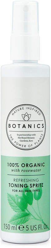 Botanics 100% Organic Refreshing Toning Spritz | rose water spray | organic beauty #afflink