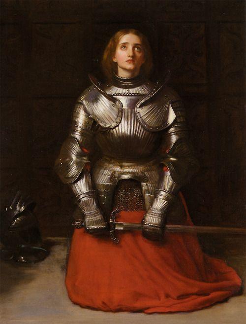 John Everett Millais - Joan of Arc (1865)