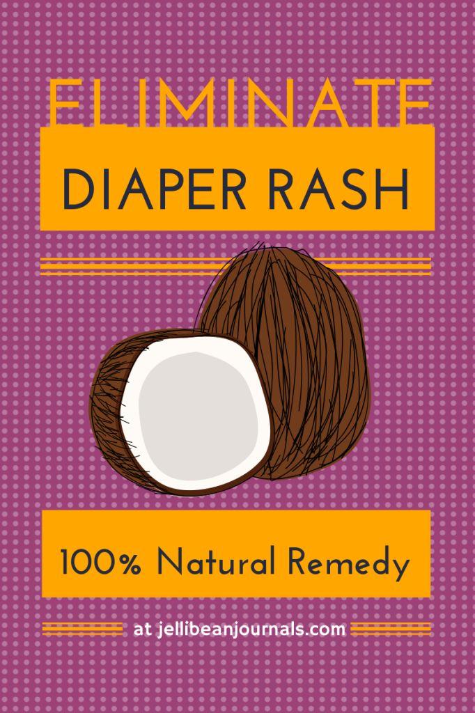 100% Natural Diaper Rash Remedy #babies #diaperrash   Jellibean Journals