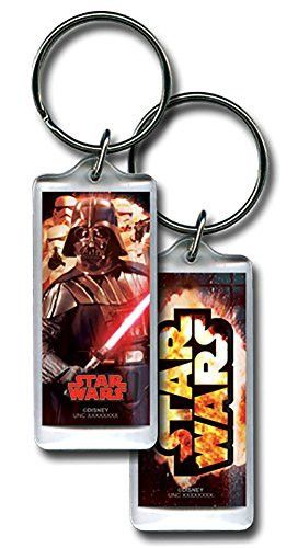Star Wars Darth Vader with Red Lightsaber & Stormtroopers Collectors Keychain Keyring