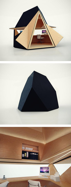 Tetra Shed - modular work space