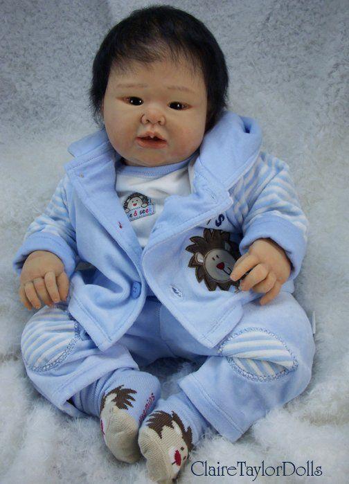 Силиконовые куклы-малыши Claire Taylor dolls (Клэр Тейлор) / Авторская кукла известных дизайнеров / Бэйбики. Куклы фото. Одежда для кукол