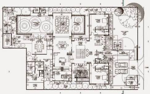 denah rumah mewah - penelusuran google   rumah mewah